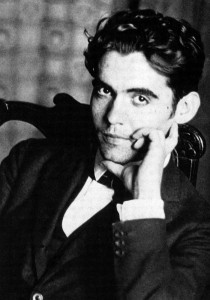 Lorca en su juventud