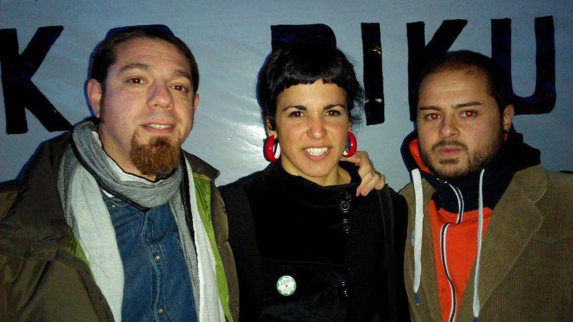 Eurodiputada Teresa Rodriguez en Barakaldo