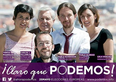 Los Cinco Eurocandidatos